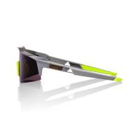 100% Speedcraft Sl Soft Tact Midnight Mauve - Dark Purple Lens