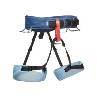 Black Diamond Momentum Harness - W's Package Stone Blue
