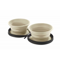 Hunter Silicone Travel Bowl With Bag List Tan 750ml