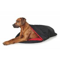 Hunter Dog Blanket And Sleeping Bag Kalix Black/Red 120x75