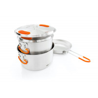 GSI Glacier Stainless Base Camper Medium 3L + 2L