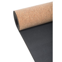 Casall Yoga Mat Natural Cork 5mm Natural Cork/Black