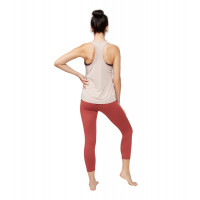 Manduka Breeze Racerback Tank Bark