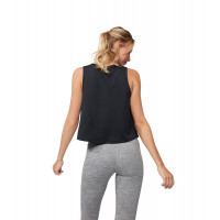 Manduka Breeze Crop Top Black