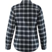 Fjällräven Övik Flannel Shirt Women's Dark Navy