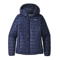 Patagonia W Down Sweater Hoody Classic Navy