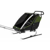 Thule Chariot Cab2 Cypresgreen