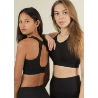 Stay In Place Max Support Sports Bra Black