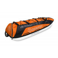 Fjellpulken Xcountry Turpulk Orange 144cm