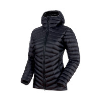Mammut Broad Peak In Hooded Jacket Women Black-Phantom