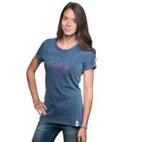 Chillaz T-Shirt Gandia Spirit Indigo Blue