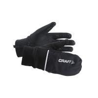 Craft Hybrid Weather Glove Black