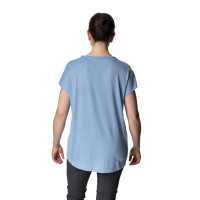 Houdini Women's Activist Message Tee Boost Blue