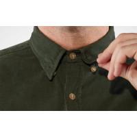 Fjällräven Övik Cord Shirt Men's Deep Forest