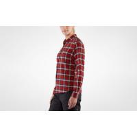 Fjällräven Övik Flannel Shirt Women's Deep Red