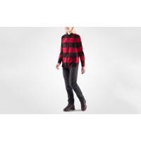 Fjällräven Canada Shirt LS Women's Laurel Green-Fog