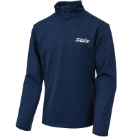 Swix Focus Midlayer Jr Estate Blue