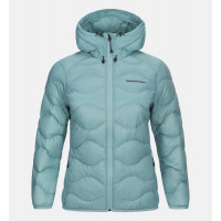 Peak Performance Women Helium Hood Jacket Nile Blue