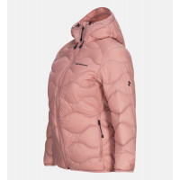 Peak Performance Women Helium Hood Jacket Warm Blush