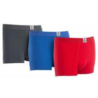 Gridarmor Boxer BambCotton 3-pakk Red/Deep Blue/Grey