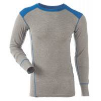 Gridarmor M's Shirt LS BambCotton Grey Melange