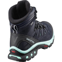 Salomon Shoes Quest 4d 3 Gtx® W Lead/Stormy Weather/Bird Of Paradis