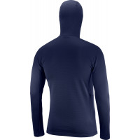 Salomon Grid Hz Mid Hoodie Men's Night Sky