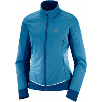 Salomon Lightning Lightshell Jacket Lyons Blue