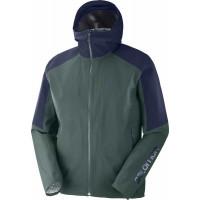 Salomon Outline Jacket M Green Gables/Night Sky