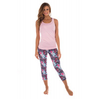 Panos Emporio Prespa Yoga Top Pink Dawn
