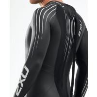 2XU P:1 Propel Wetsuit Men's Black/Silver Shadow