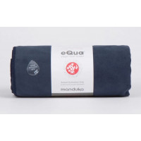 Manduka Equa Yoga Mat Towel Midnight 182cm