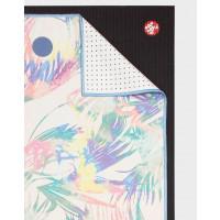 Manduka Yogitoes Yoga Mat Towel Tropics Multi 173cm