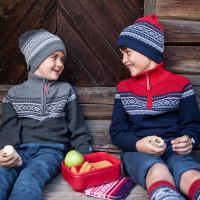 Marius Kids Ull Lue Grey