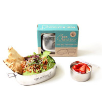 ECOlunchbox Oval Stainless Steel