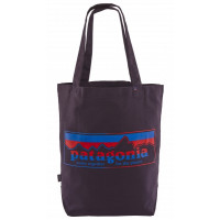 Patagonia Market Tote Tgthr For The Planet Logo Pit Purpl