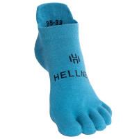 Hellner Running Toe Socks Low Comfort Blue Coral