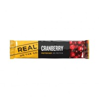 Real On The Go Protein Bar Cranberry 40 g