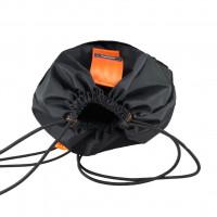 Orange Mud Sling Bag Black With Orange Straps
