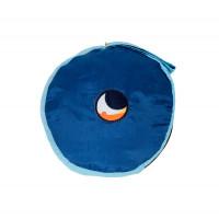 Ticket To The Moon Beach Blanket Royal Blue/Sky 213 x 213 cm