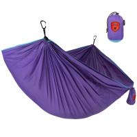 Grand Trunk Tech Single Hammock Aqua/Violet