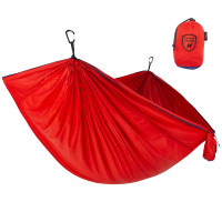 Grand Trunk Trunk Tech Double Hammock Two-Tone Red/Navy