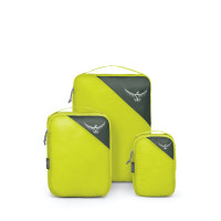 Osprey Ultralight Packing Cube Set Electric Lime S/M/L