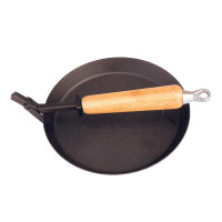 Urberg Cast Iron Frying Pan Black