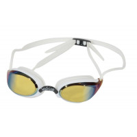 Huub Brownlee Goggle White/Yellow Mirror