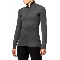 Woolpower Zip Turtleneck 200 Dark Navy