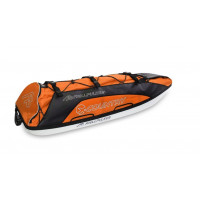 Fjellpulken Xcountry Turpulk Komplett Orange 144cm