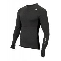 Aclima WarmWool Hood Sweater Man Marengo/Black