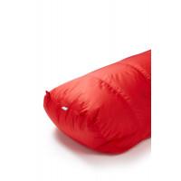 Rab Alpine Pro 600w Fiery Red / Steel Left Zip
