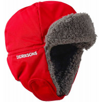 Didriksons Biggles Kid's Cap 3 Chili Red